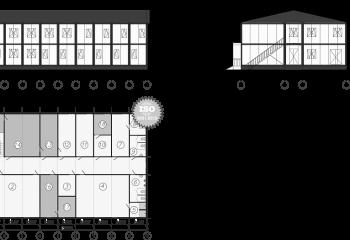 вагон дома на шасси на санях на раме производитель прогресс кедр ермак вахтовые поселки модульное здание бытовка